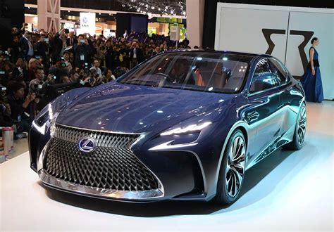 lexus lf lc black lexus lf lc concept offers a look at luxury brand s