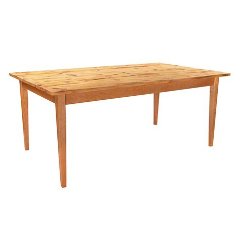 Reclaimed Barnwood Dining Table Reclaimed Barnwood Farm Table With Tapered Legs Crafted In Vermont Made In America