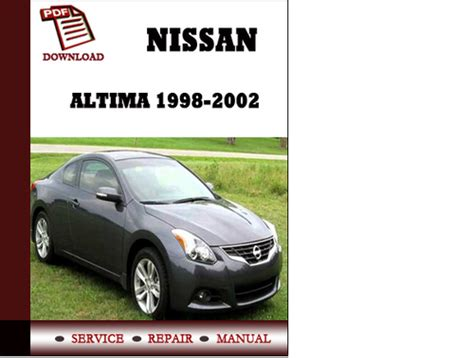 how to fix cars 2002 nissan altima electronic toll collection nissan altima factory service manual car repair manual html autos weblog