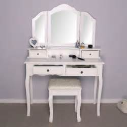 White Makeup Vanity Table White Dressing Table Vanity Makeup Table New Model Ebay