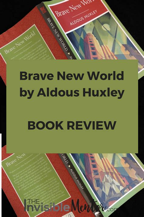 World Literature Book Review by Brave New World By Aldous Huxley Book Review
