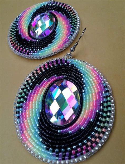 beadwork earrings amazing beaded earrings beadwork seed bead earrings