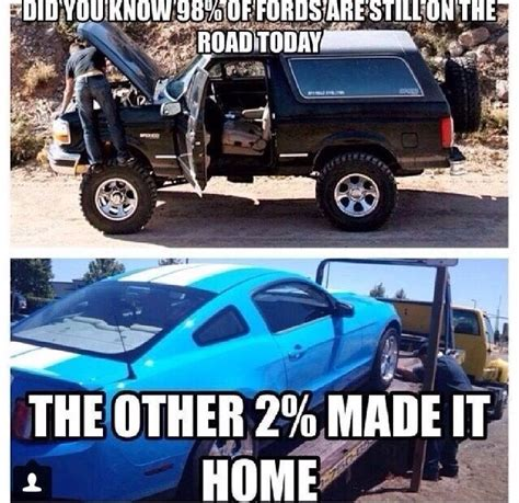 Funny Ford Memes - 1000 ideas about chevy vs ford on pinterest ford jokes