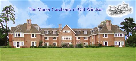 grounds building the manor care home