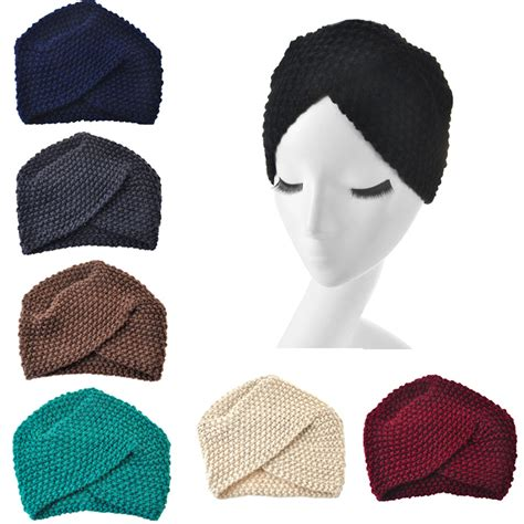 23 colors knitted turban headbands for winter warm 2016 new fashion winter warm turban soft knit