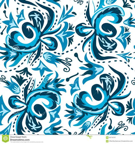 russian pattern vector traditional russian vector seamless pattern stock vector