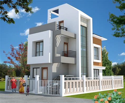 Elevation Floor Plan by Bloomsbury Convicity Villas In New Town Kolkata Price
