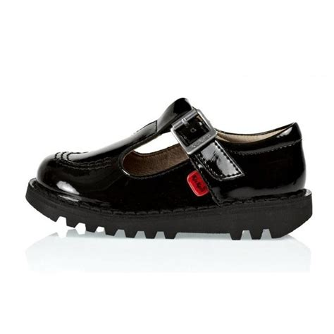 kicker shoes kickers kicker kick if infants t patent black z17