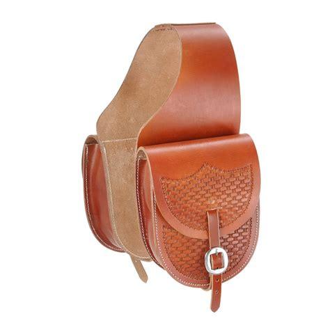 saddle bag western tough 1 leather saddle bag 92661 9525p ebay