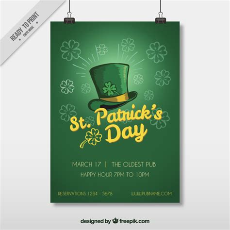 st patricks day email template