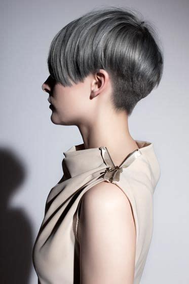 picture of precision grey hair haircut pewter bobs and grey on pinterest
