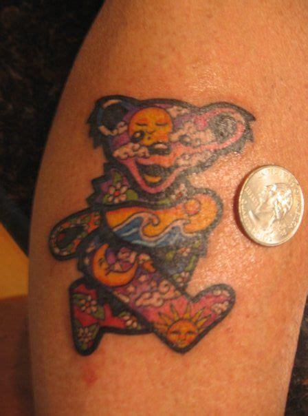 gd tattoos grateful dead tattoos gd 121 gigi s painted
