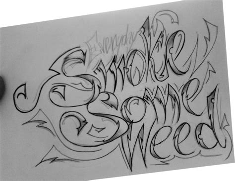 smoking weed tattoo designs smoke some by ocelotek on deviantart