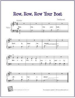 row the boat chant row row row your boat kiddies music pinterest musique