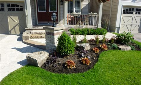 front yard landscaping ideas ontario landscape design landscape services durham whitby