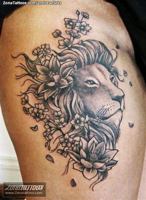imagenes de leones tatoo tatuajes leon peque 241 o