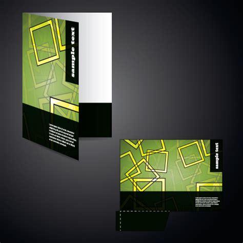 folder cover design vector free download vector layout folder cover design set free vector in