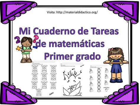 imagenes matematicas primer grado mi cuaderno de tareas de matem 225 ticas primer grado