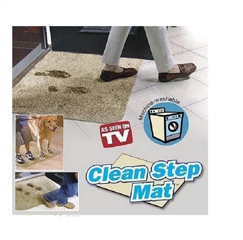 Magic Doormat by Absorbant Magic Door Mat Microfibre Clean Step