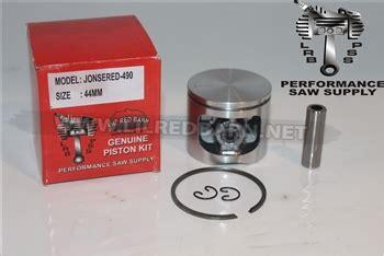 Jonsered 490 Piston Kit Replaces Part 503100201