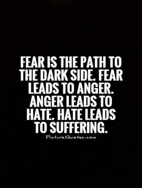 Yoda Quotes Hate Dark Side