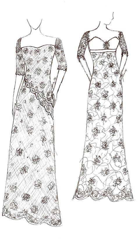desain gaun sederhana gambar desain baju pagar ayu hontoh