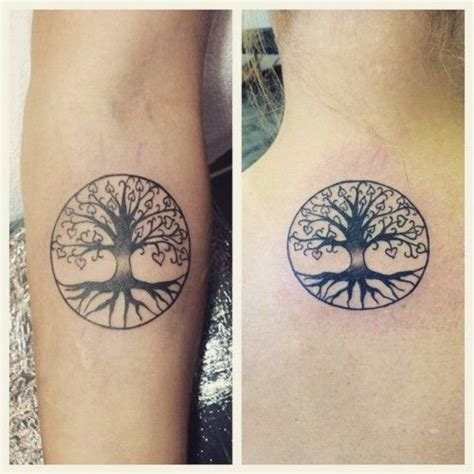 mother daughter tree tattoo beautiful tattoos that will your mind