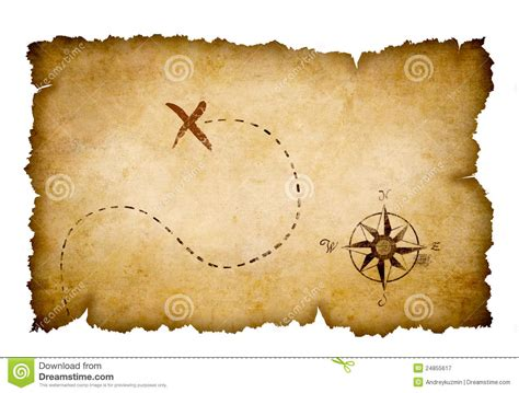pirate treasure map abstract treasure map stock image image