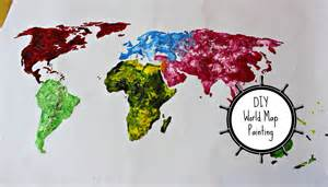 Painting Graffiti On Bedroom Walls Diy World Map Painting Thoserosiedays Youtube