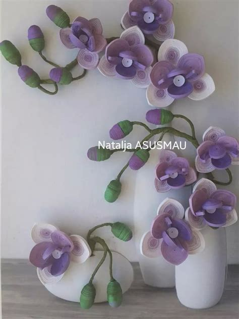 paper quilling orchid tutorial 182 best orchid quilled images on pinterest paper crafts