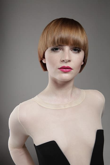 saks hairstyles gallery a short brown hairstyle from the l oreal professionnel