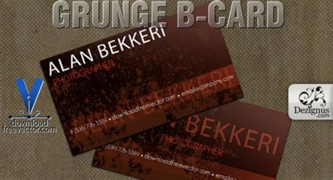 b card template grunge b card template vector free