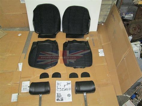 New Seat Upholstery by New Cloth Front Seat Covers Upholstery Mgb 1973 80