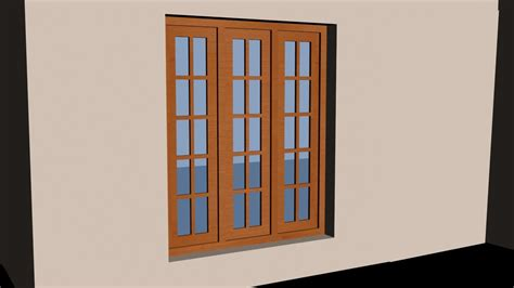 house window autocad 3d house part3 make a 3d window youtube