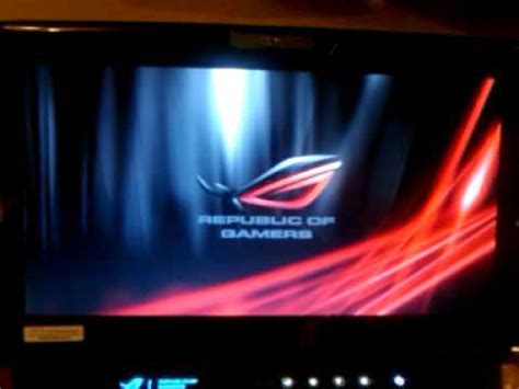 how to change bios logo and update bios using asus update asus g50vt custom boot logo sound youtube