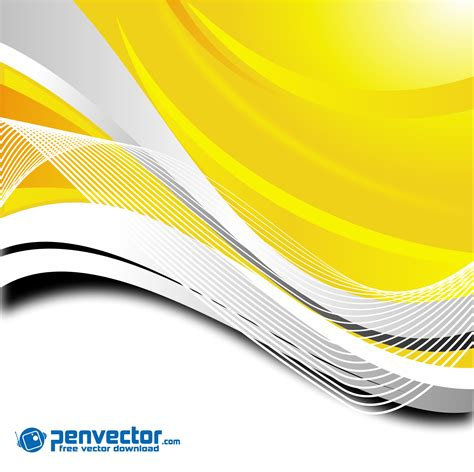 background design vector png dynamic curves yellow background free vector vectorpic