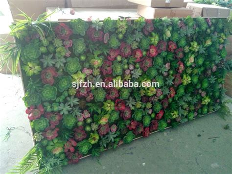 new design and sale artificial vertical garden wall