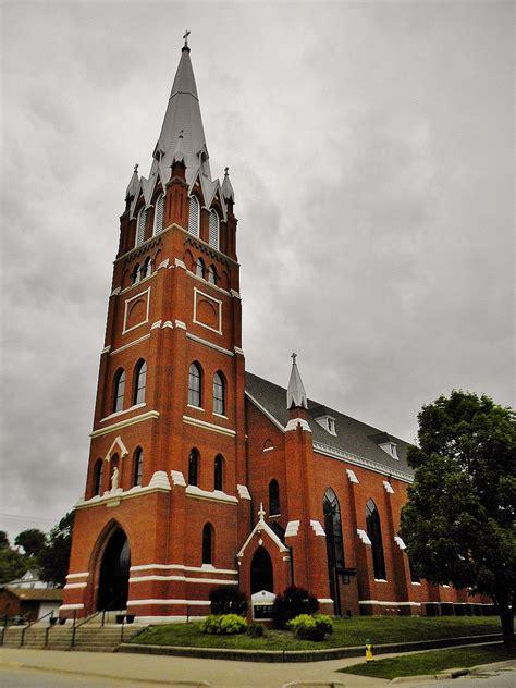 st marys ford holy family catholic church fort iowa