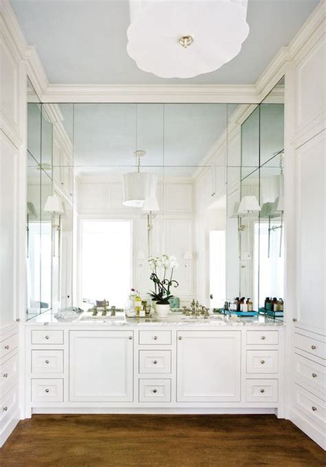 bathroom ceiling height atlanta homes mirror and sconces on pinterest