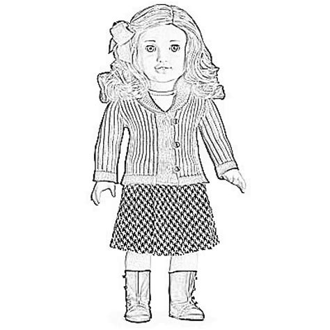 coloring pages american girl get this printable american girl coloring pages online