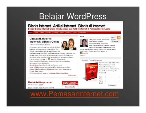 tutorial on wordpress website tutorial blog wordpress