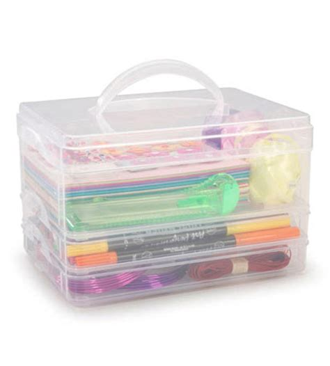 craft storage containers set of 3 in craft storage - Craft Storage Containers