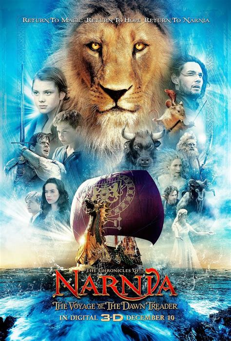 Film Narnia Voyage Of The Dawn Treader | narnia 3 poster teaser trailer