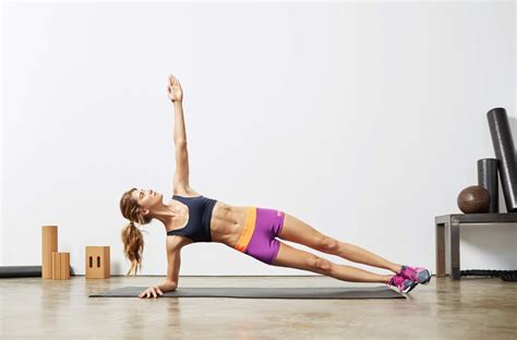 oblique exercises without equipment popsugar fitness