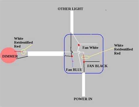 Blue Wire In Ceiling Fan by Silly Blue Wire Doityourself Community Forums