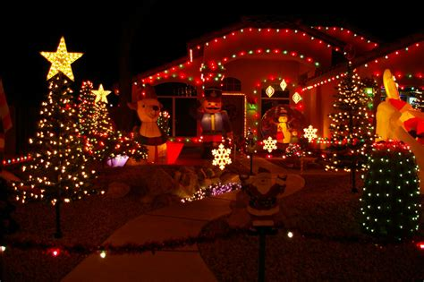 free wallpaper christmas lights on house wallpaper