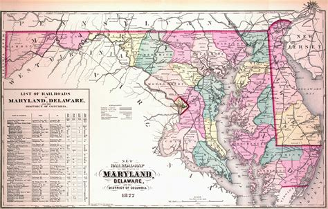maryland map historical city county and state maps of maryland