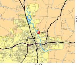 Heath Ohio Map by 43055 Zip Code Newark Ohio Profile Homes Apartments