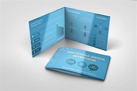 bi fold flyer template social media bi fold template graphicriver print templates