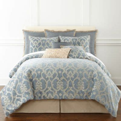 jcpenney comforter covers jcpenney victoria falls 7 pc jacquard comforter set